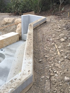 This is a very special ditch by Precision Set-Up concrete. Get it done right.