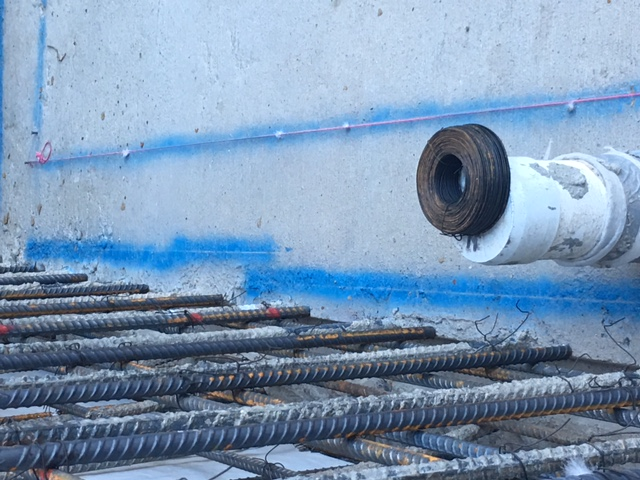 This is rebar. If you want to have a solid foundation then hire Precision Set-Up Concrete.